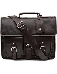 Porterbello -  Milan  Large Handcrafted Leather Satchel Briefcase Laptop Messenger  Bag 1675e5b39b047