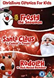Christmas classics for kids frosty the snowman Santa Claus is comin' to town Rudolph the red-nosed reindeer