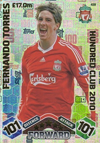 2447497b Topps Match Attax 2016/2017 Fernando Torres 09/10 Hundred 100 Club Legend 16