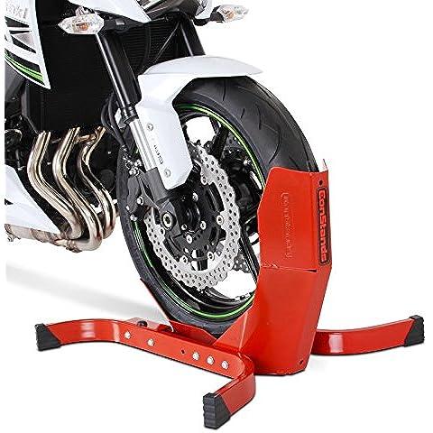 Blocca Ruota Moto Yamaha X-Max 125 Constands Easy Plus Rosso