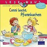 LESEMAUS 123: Conni backt Pfannkuchen