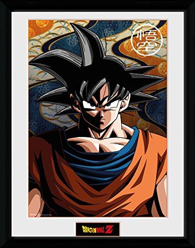GB eye, Dragon Ball Z, Goku, Fotografia Enmarcada, 40 x 30 cm