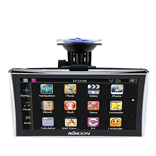 GPS navegador para autocaravana KKmoon 7'' HD
