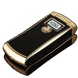 NEUES Feuerzeug, High-Tech-SHUNING USB-Feuerzeug mit Digital-Anzeigen-Schirm,...