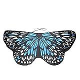 CICIYONER Schmetterlingsflügel-Schal Damen Frauen Kind Kinder Jungen Mädchen Böhmischen Schmetterling Print Schal Pashmina Kostüm Zubehör