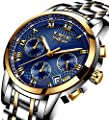 Relojes De Hombre Deportivos Clásicos Militar Especiales Marea Moda Acero Inoxidable Lujo Negro Oro Azul Plateado Calendario Analógicos Reloj De Pulsera para Hombre