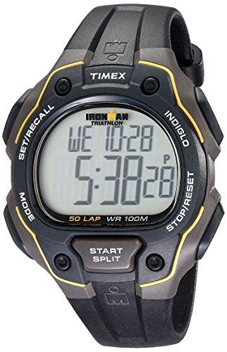 Timex Herren-Armbanduhr XL Lap Timer Sportchronographen Digital Kautschuk T5K494SU
