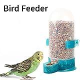 haodene Mangiatoia per Uccelli, Alimentatore Automatico Pappagallo distributore di Cibo per Animali Automatico bevitore d'Acqua Gabbia Alimentatore Forniture Gabbia di Piccione Accessori