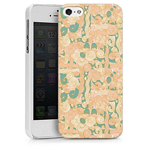 Apple iPhone X Silikon Hülle Case Schutzhülle Zengarden Blumen Muster Hard Case weiß