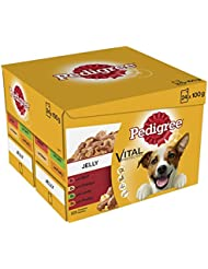 Pedigree Dog Pouches Mixed Varieties in Jelly, 24 x 100 g