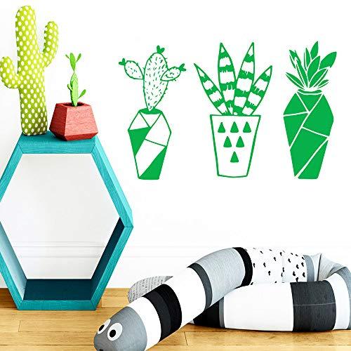 yiyiyaya Cartoon Botanik Wandaufkleber Vinyl Kunst Wohnkultur Für Wohnkultur Wohnzimmer Schlafzimmer Wandaufkleber wasserdichte Tapete gelb M 28 cm X 44 cm