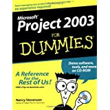 Microsoft Project 2003 For Dummies by Nancy Stevenson (2003-10-31)