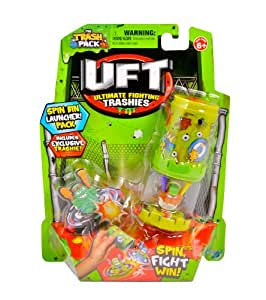 Giochi Preziosi 70682321 - Trash Pack Uft Kreiseltonne mit Figur, grün