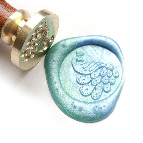 uniqooo-arts-crafts-peacock-wax-seal-stamp