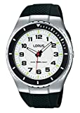Lorus Watches Herren Analog Quarz Uhr mit Plastik Armband R2325LX9