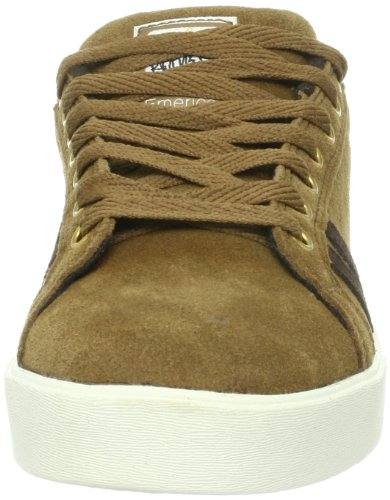 Emerica THE LEO 6102000065, Scarpe da skateboard unisex adulto Marrone (Braun (camel))
