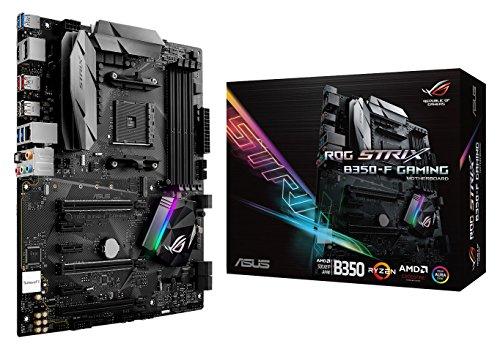 Price comparison product image ASUS ROG STRIX B350-F GAMING - ROG STRIX B350-F GAMING - Motherboard - ATX - Socket AM4 - AMD B350 - USB 3.1 Gen1