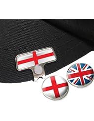 England Elite hat oder Gap Clip mit Englisch und Union Jack Golf Ball Marker