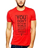 642 Stitches Eric Cantona Quotes for Manchester United Men's Cotton Round Neck T-Shirt