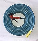 #8: Crown Garden Hose with Sprinkler & Adaptor -1/2 inch x 15 meter(Blue)
