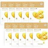 The Faceshop Real Nature Face Mask, Lemon, 20g (Pack of 10)