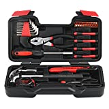 INTEY 39-Piece Household Tool Kit with Pliers Tools - Best Reviews Guide