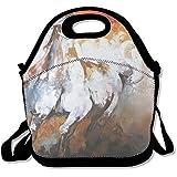 MAGGIE SALAS Horse Oil Painting Spring Bag Lunch Bags Bags Travelling Bag Picnic Bag Storage Bag Backpack For Children Diagonal Bag Handbag