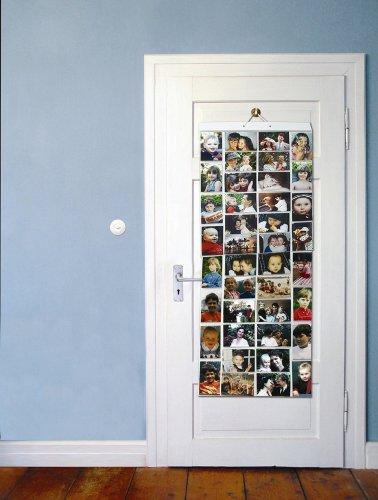 Picture Pockets PPR002 portafoto da appendere–80foto in 40tasche (reversibile), confezione piatta, trasparente, Mega (AA)- 40 4×6″ Pockets - 3
