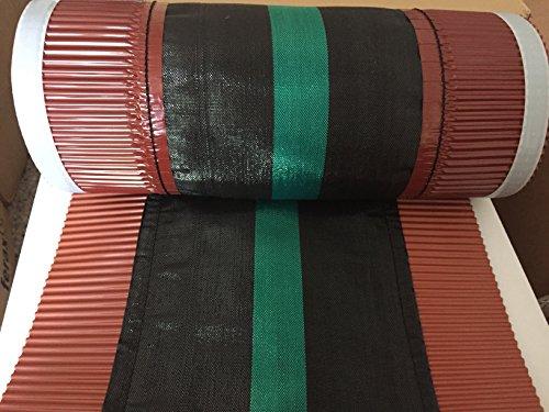 Rollfirst Firstband rot 39cmx5m für tiefe Dachsteine
