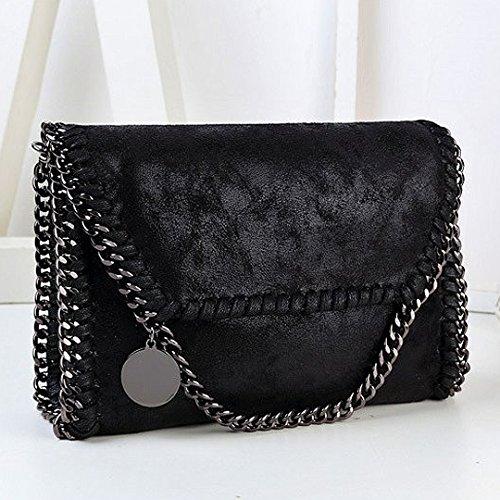 Millya, Borsa a tracolla donna, black (Nero) - bb-01651-01C black