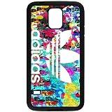 fdxgw904Samsung Galaxy S5teléfono celular Case-Black _ colorful-adidas-