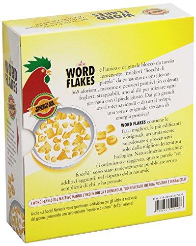 Zoom IMG-1 word flakes 365 pensieri positivi