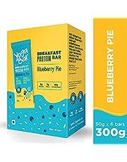 Yogabar Breakfast Protein Blueberry Bars - 300gm 50 g x 6
