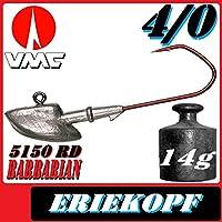 ERIE JIGKÖPFE VMC BABARIAN 5150 in 21; 30; 40; 50 Gramm