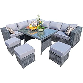 Yakoe 50001r Papaver Range Rattan Garden Furniture 9