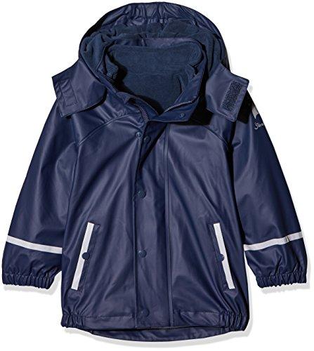 Sterntaler Baby-Jungen Giacca Impermeabile Sfoderabile Regenjacke, Blau, Größe: 80
