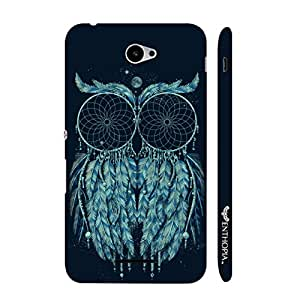 Sony Xperia E4 Dream owl catcher designer mobile hard shell case by Enthopia