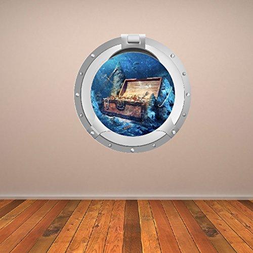 treasure-chest-pirata-obl-digital-scena-digitale-wall-sticker-casa-decalcomania-di-arte-disponibile-
