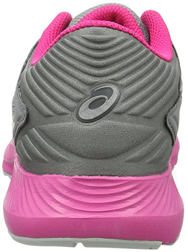 Asics Nitrofuze, Scarpe da Ginnastica Donna Grigio (Midgrey/White/Sport Pink)