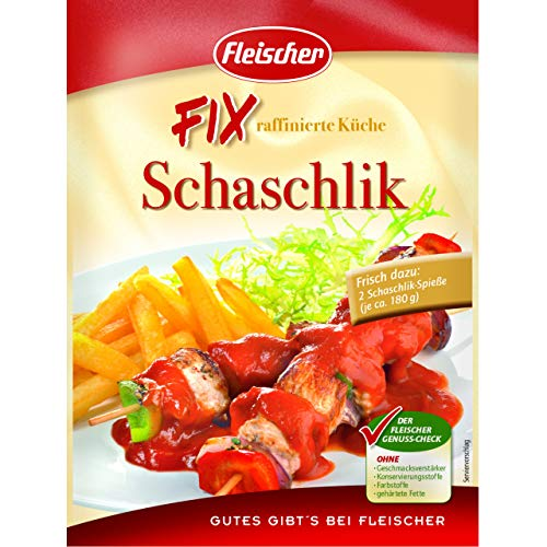 Fleischer FIX Schaschlik 15 Beutel á 40g
