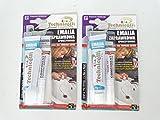 2x Emaille Fix Filler für Keramik Bad Waschbecken Dusche Boden Urinal Gasherd Waschmaschine NEU