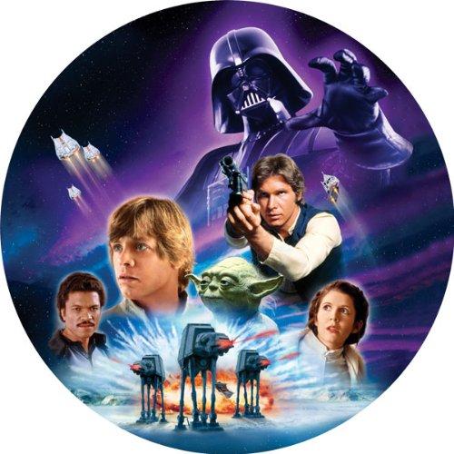 Dekoback Tortenaufleger Star Wars, 1er Pack (1 x 12 g)