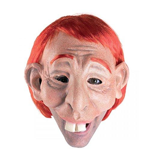 Hasenzahnmaske Latexmaske (Von Glöckner Dame Kostüm Disney Notre)