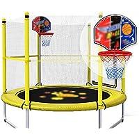 59 Zoll Trampolin für Kinder mit Basketballkorb und Backboard Enclosure Net Jumping Mat und Sicherheit Spring Cover preisvergleich bei fajdalomcsillapitas.eu