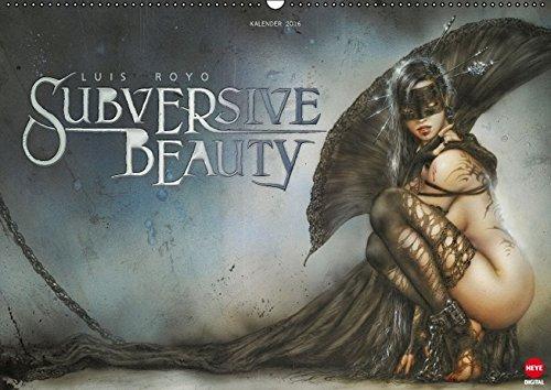 Luis Royo : SUBVERSIVE BEAUTY (Wandkalender 2016 DIN A2 quer): Exklusiver Kalender im spektakulärem Querformat (Monatskalender, 14 Seiten) (CALVENDO Kunst)