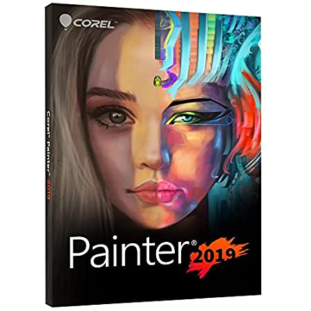 Corel Painter 2019|Full|1 Device|1 year|PC|Disc