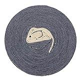 perfk Kratzbrett Kratzmatte aus Sisal für Katzen - Maus