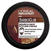 L'Oreal Men Expert Barber Club Beard And Hair Styling Cream, 75 ml