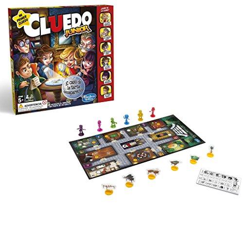 Hasbro Gaming- Juegos Cluedo Junior Versión Española
