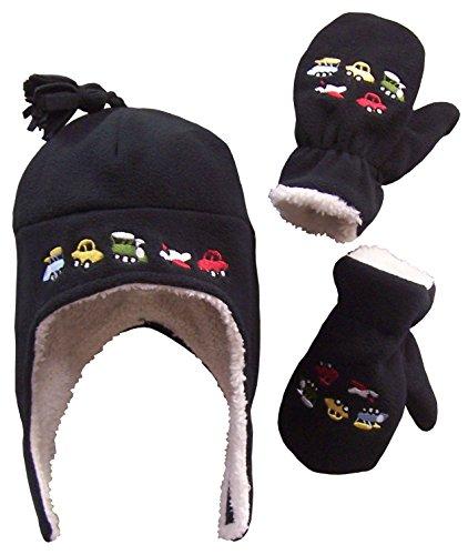 N 'ice Caps - Conjunto gorro orejeras manoplas, forro